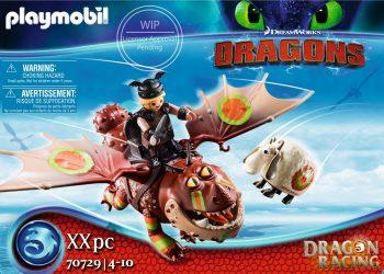 Playmobil Dragons, Drakonų lenktynės: Fishlegs ir Meatlug, 70729