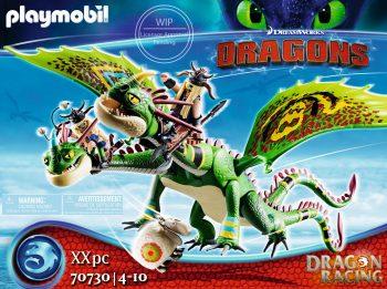 Playmobil Dragons, Skraidantis dvigalvis drakonas, 70730