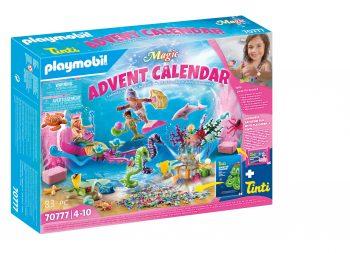 Playmobil Magic, Undinėlių linksmybės Advento kalendorius, 70777