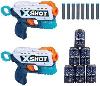 3621 XSHOT žaislinių šautuvų rinkinys Double Micro