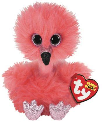 TY Beanie Boos pliušinis flamingas FRANNY 15cm, TY36381