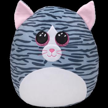 TY Squish a Boos pliušinė katė KIKI, 40cm, TY39190