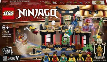 71735 Konstruktorius LEGO Ninjago Elementų turnyras , 283 vnt.