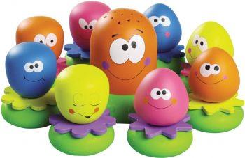 E2756 TOMY vonios žaislas Aštuonkojų šeimynėlė