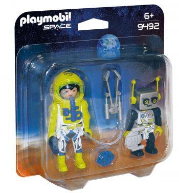 Playmobil space, Astronautas ir robotas, 9492