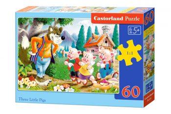 B-06519 Castorland THREE LITTLE PIGS