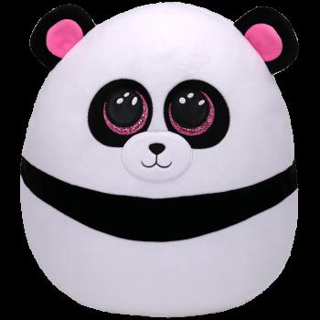 TY Squish a Boos pliušinė panda BAMBOO, 40cm, TY39192