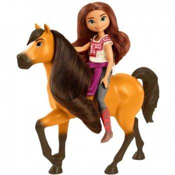 CFX20 Mattel Spirit žirgo ir lėlės rinkinys. Lucky & Spirit.