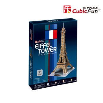 """C044h CubicFun 3D dėlionė """"Eifelio bokštas"""""""