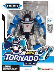 TOBOT Transformeris ATHLON MINI TORNADO, 12 cm