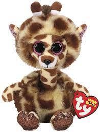 TY Beanie Boos pliušinė žirafa GERTIE 15cm, TY36382