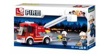 Sluban gaisrininkai