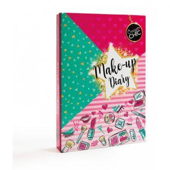 "Clementoni makiažo rinkinys - Crazy Chic ""Make-Up Diary"""