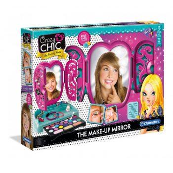 Žaislinė kosmetika - Clementoni makiažo staliukas su veidrodėliu