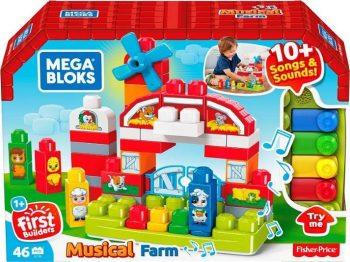 """GCT50 Mega Bloks® """"Muzikinė ferma"""", 46 d."""