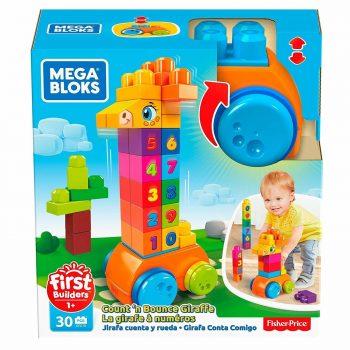 """GFG19 Mega Bloks rinkinys """"Žirafa"""" (30 det.)"""