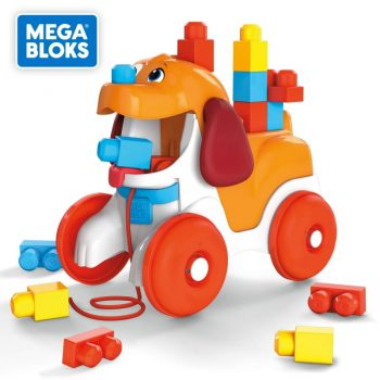 GNW63 MEGA BLOKS šuniukas Lilas 15 det.