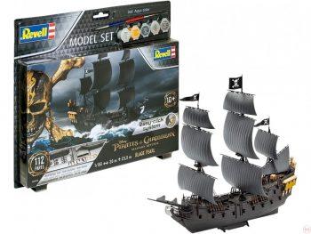 65499 Revell - Black Pearl dovanų komplektas, 1/150