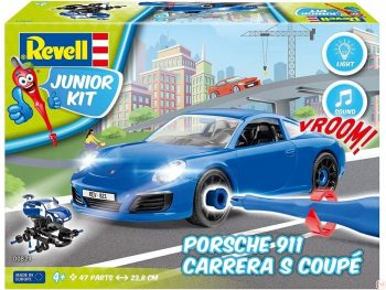 00821 Revell - JUNIOR KIT Porsche Carrera car, 1/20