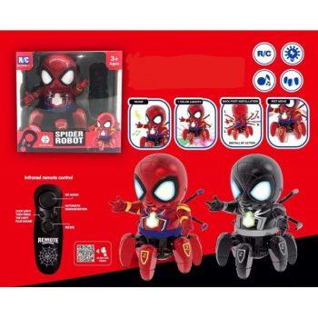 2234 Spider robotas su valdymo pultu ( juodas)