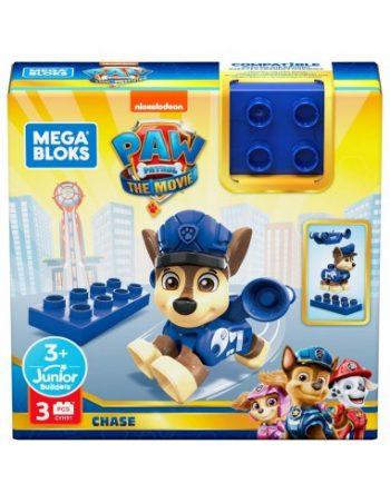 GYH89 Mega Bloks Paw Patrol šuniukų figurėlė CHASE