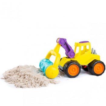 0896 Žaislinis traktorius su volu Fancy Baby29 cm