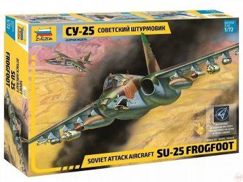 7227 Zvezda - Soviet Attack aircraft Su-25 Frogfoot, 1/72