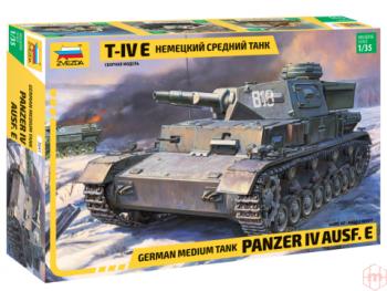 3641 Zvezda - Pz.Kpfw. IV Ausf. E, 1/35