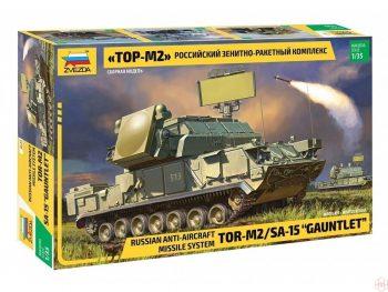 "3633 Zvezda - Russian Air Defense Missile System TOR-M2/SA-15 ""Gauntlet"", 1/35"