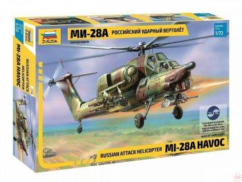 7246 Zvezda - Russian Attack Helicopter Mil Mi-28A Havoc, 1/72