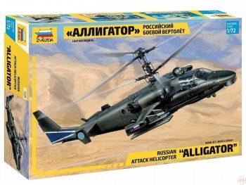 "7224 Zvezda - Russian Attack Helicopter ""Alligator"", 1/72"