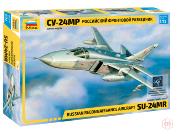 "7268 Zvezda - Russian reconnaissance Aircraft Su-24MR ""Fencer-E"", 1/72"
