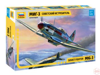 7204 Zvezda - MiG-3 Soviet Fighter, 1/72