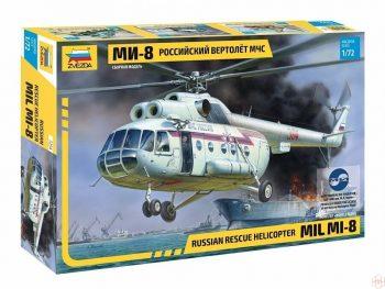 7254 Zvezda - Russian rescue helicopter MIL MI-8, 1/72