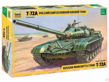 3552 Zvezda - T-72A, 1/35