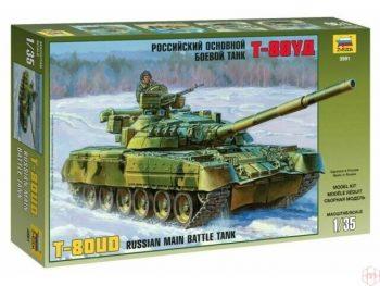 3591 Zvezda - T-80UD, 1/35