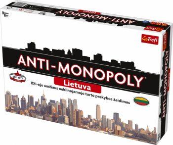 """0169 TREFL Žaidimas """"Anti-Monopoly"""" (Lietuvių kalba)"""