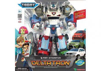YOUNG TOYS TOBOT Transformeris Deltatron, 301040T