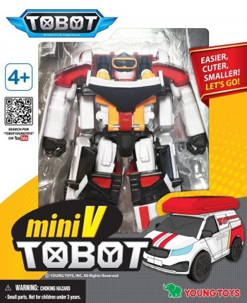 301060 YOUNG TOYS TOBOT Transformeris Mini Tobot V