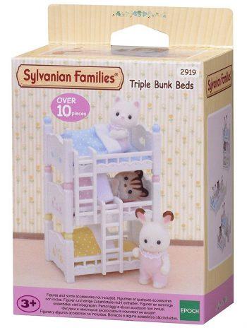 4448 SYLVANIAN FAMILIES Triaukštė mažylių lova