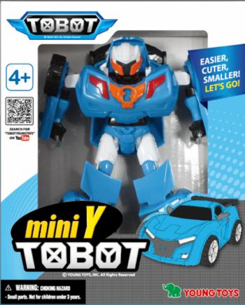 301021 YOUNG TOYS TOBOT Transformeris Mini Tobot Y