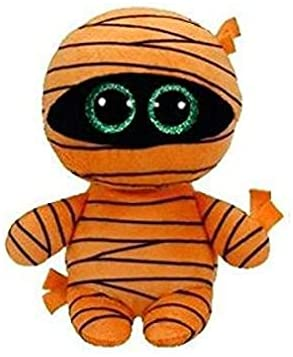 TY Beanie Boos pliušinė oranžinė mumija Mask, 15 cm, 37241