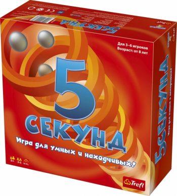 """01563 TREFL Žaidimas """"5 sekundės"""" (Rusų kalba)"""