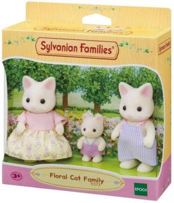 5373 SYLVANIAN FAMILIES Gėlių kačiukų šeimynėlė (3 figūrėlės)