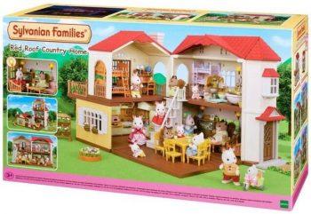 5302 SYLVANIAN FAMILIES Kaimo namas su raudonu stogu