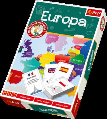 01407 TREFL edukacinis žaidimas Europa, LT