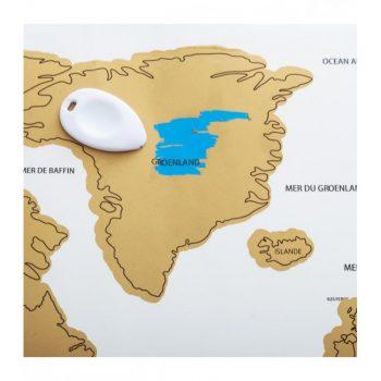 Kelionių žemėlapis nutrinamas