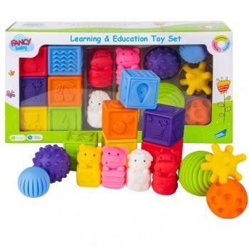 Lavinamųjų žaislų rinkinys Fancy baby, 3in1