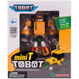 301077 YOUNG TOYS TOBOT Transformeris Mini Tobot T
